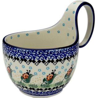 Ceramika Artystyczna Soup Cup Ladybug