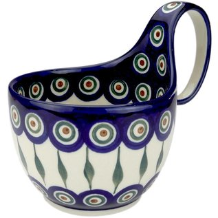 Ceramika Artystyczna Soup Cup Royal Peacock