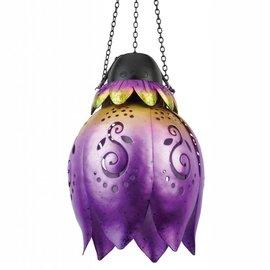 Wireless Flower Lantern - Purple