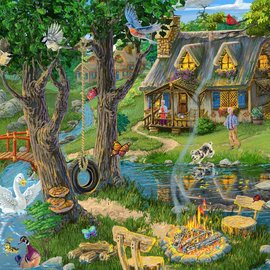 Lakeside Cottage Puzzle