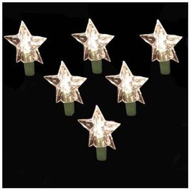 Christmas Ornaments 35 Light Set Stars