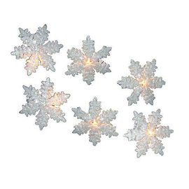 White Snowflake Light Set