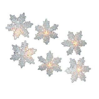 White Snowflake Light Set