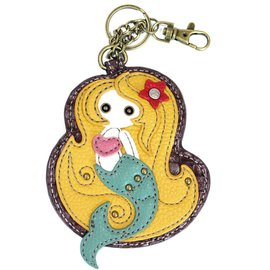 Coin Purse Key Fob Mermaid