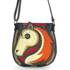 Crossbody Horse Red