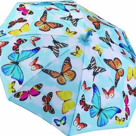 Children's Umbrella Flutter By Butterflies