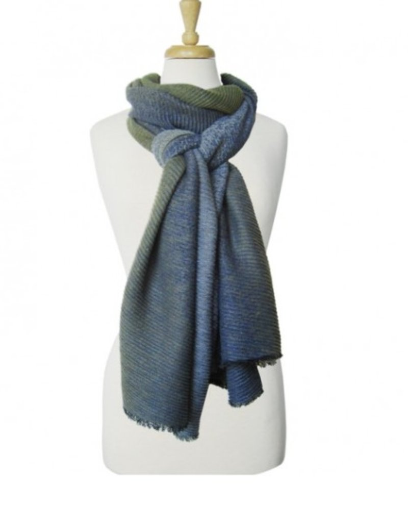CARACOL CARACOL FOULARD HIVER OLIVE