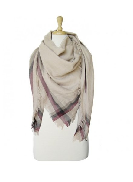 CARACOL CARACOL FOULARD CHALET TAUPE