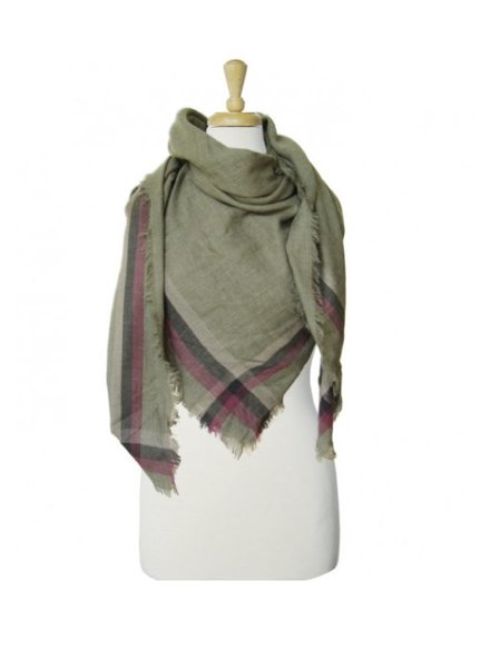 CARACOL CARACOL FOULARD CHALET OLIVE