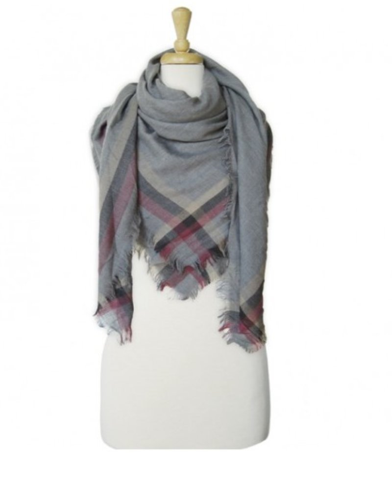 CARACOL CARACOL FOULARD CHALET GRIS
