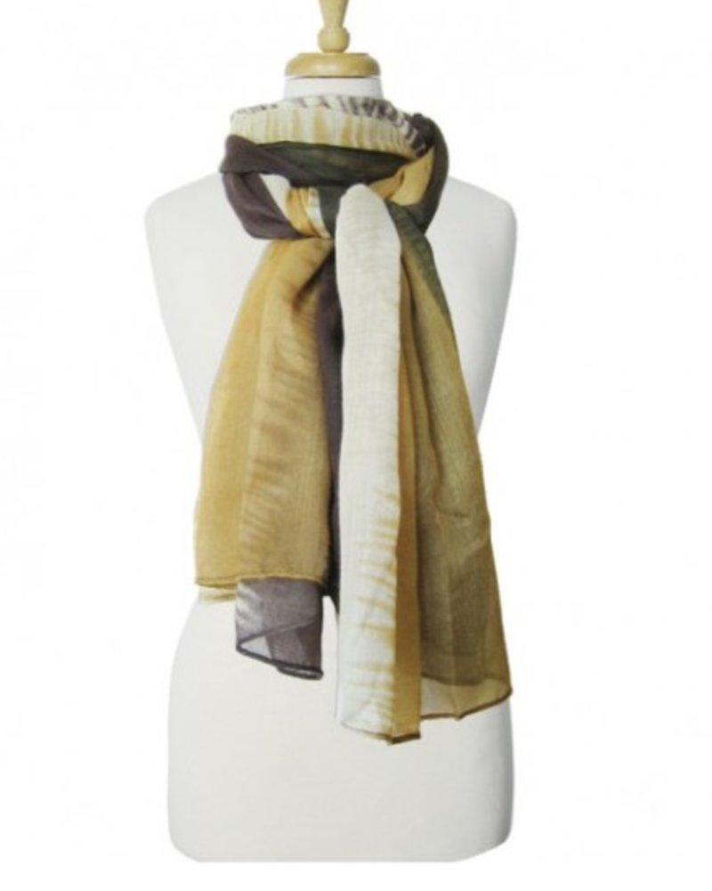 CARACOL CARACOL FOULARD AUTOMNE OLIVE
