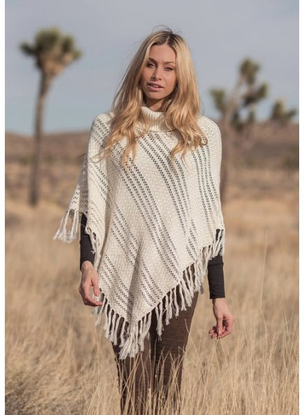 NOMADS EQUINOX PONCHO IVOIRE