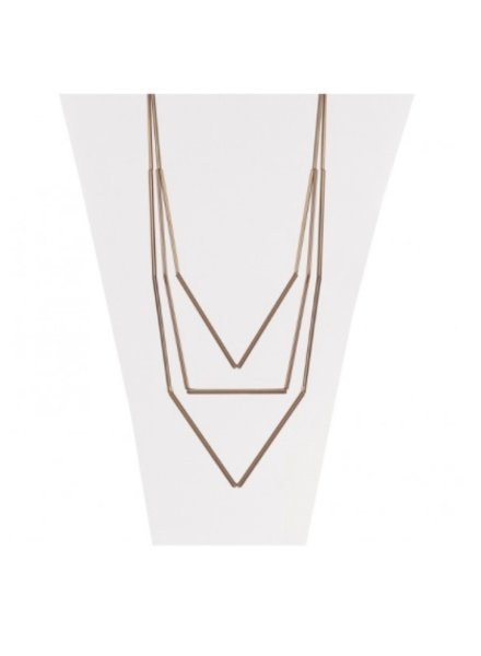 CARACOL CARACOL COLLIER LONG CAFE