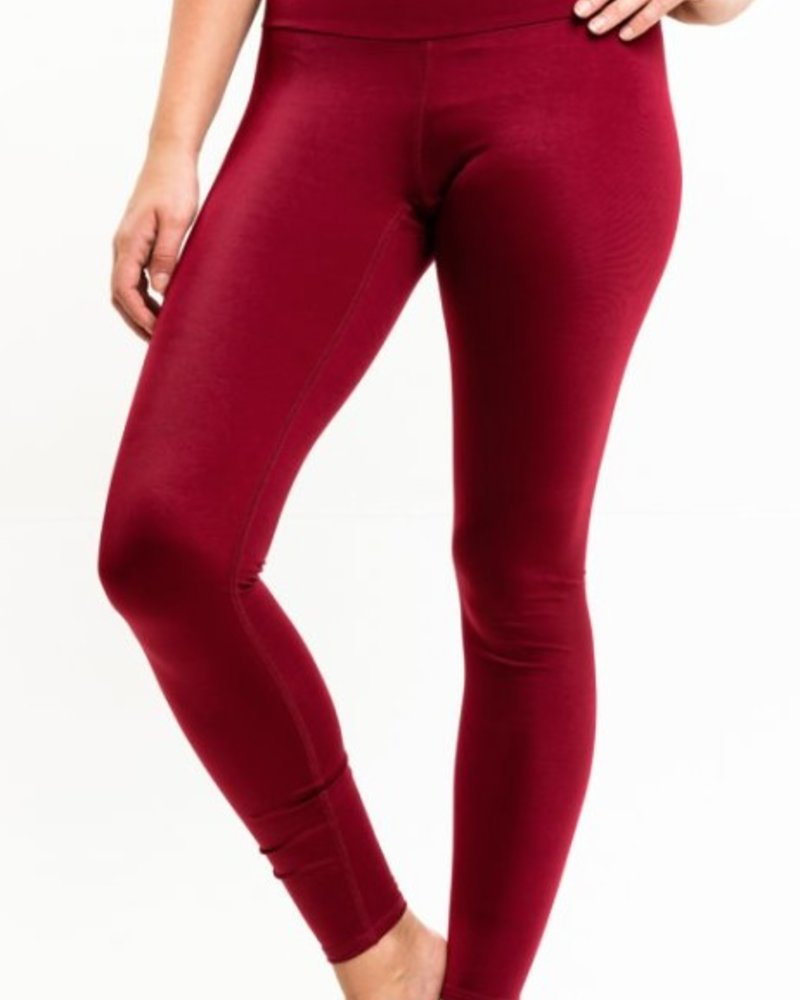 ORAKI ORAKI LEGGINGS BURGUNDY