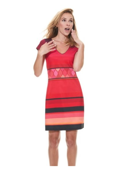 MISS VERSA MISS VERSA DRESS NATA RED