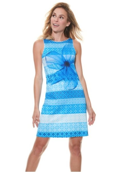 MISS VERSA MISS VERSA DRESS SAM BLUE