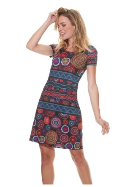 MISS VERSA MISS VERSA DRESS THELMA MULTI