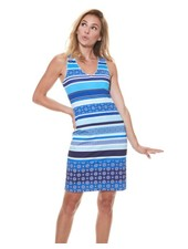 MISS VERSA MISS VERSA DRESS TRISSY BLUE