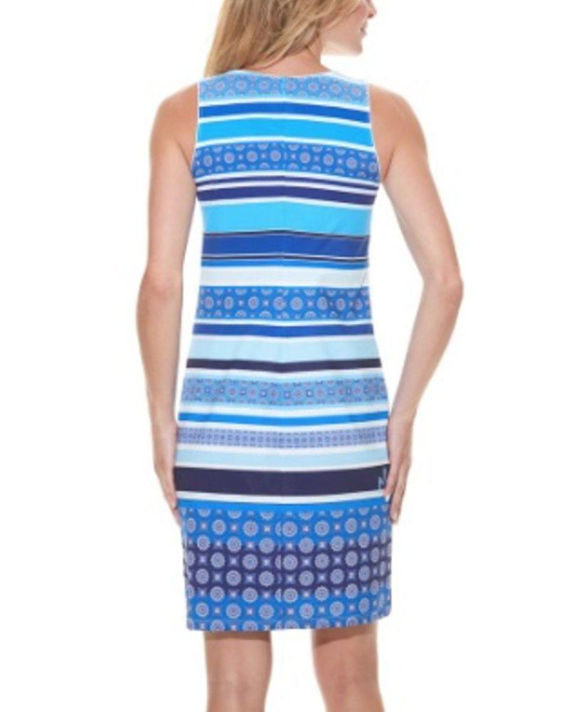 MISS VERSA MISS VERSA DRESS TRISSY BLUE