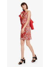 DESIGUAL DESIGUAL DRESS LISA RED PATTERN