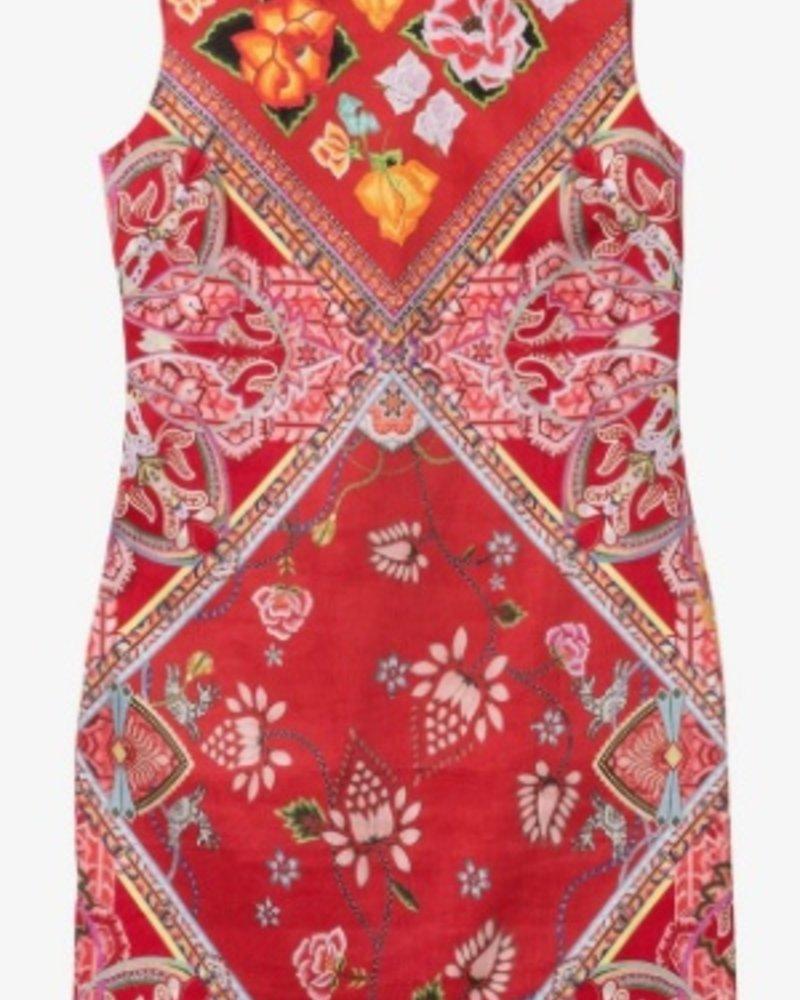 DESIGUAL DESIGUAL DRESS LISA RED PATTERN
