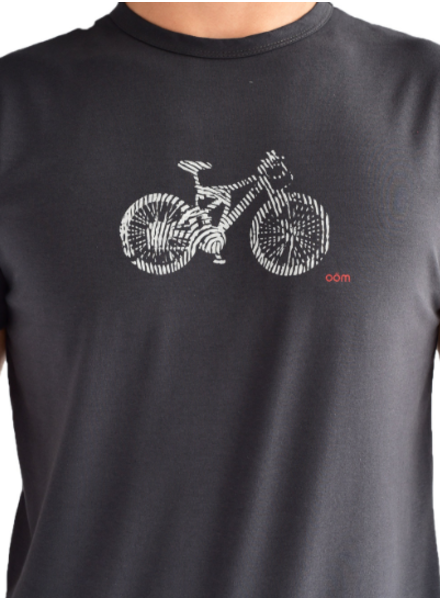 OOM OOM T-SHIRT DNA CHARCOAL