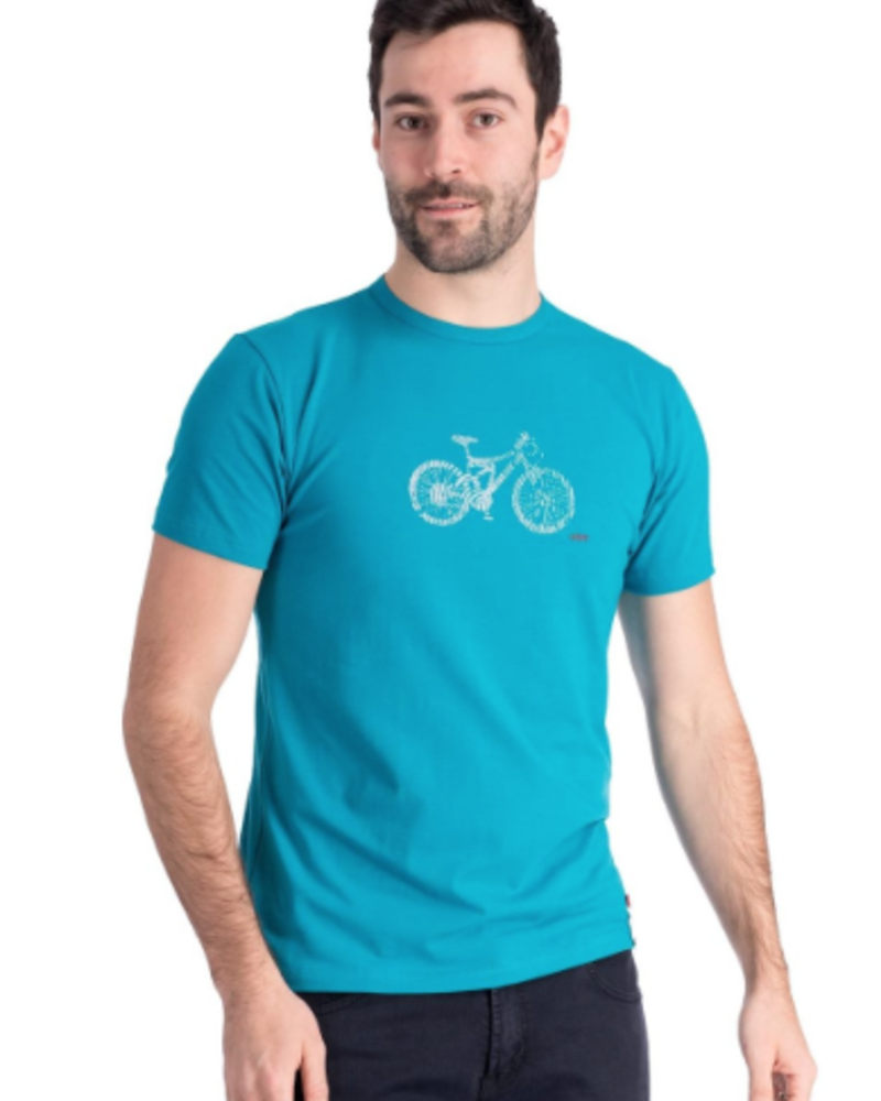 OOM OOM T-SHIRT DNA TURQUOISE