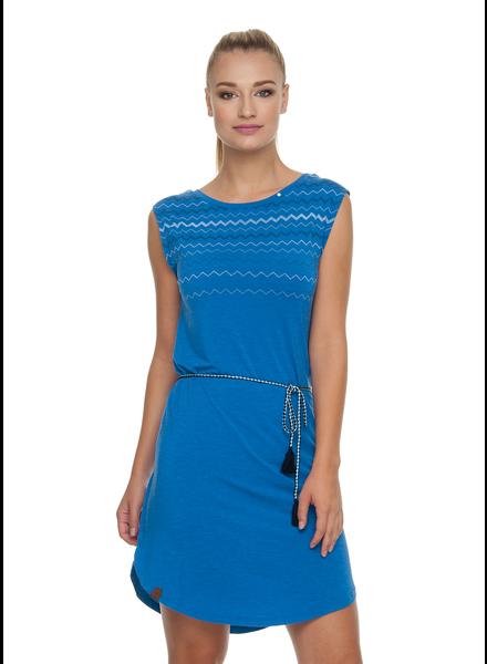 RAGWEAR RAGWEAR ROBE VALENCIA DRESS BLUE