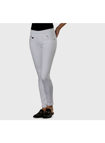 LISETTE LISETTE BETTY DENIM 30'' SLIM JEANS BLANC