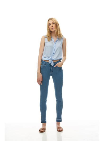 YOGA JEANS YOGA JEANS CLASSIC RISE ANKLE SKINNY MAINE