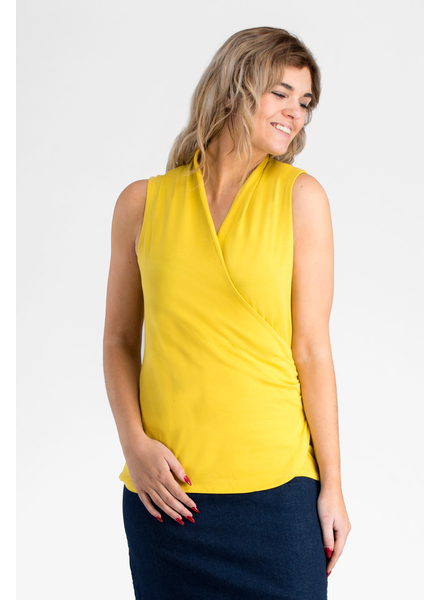 MESSAGE FACTORY MESSAGE FACTORY CAMISOLE AUPEPINE CITRON