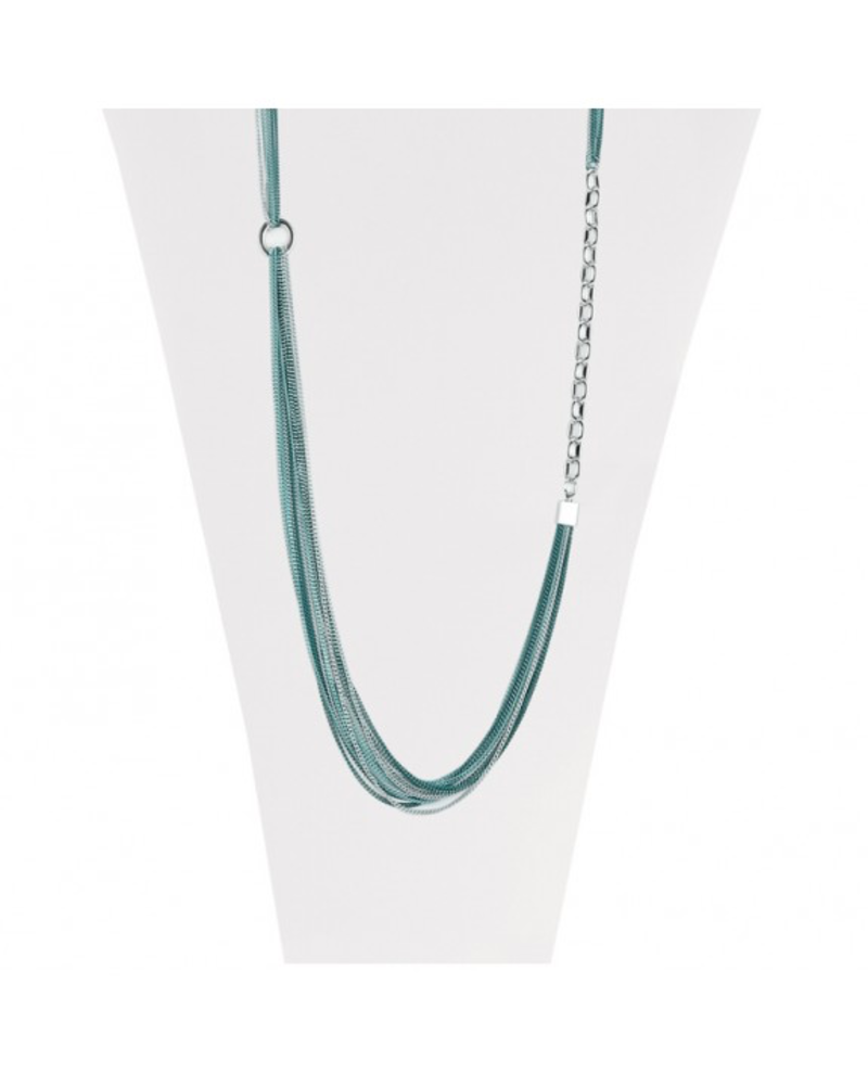 CARACOL CARACOL COLLIER SAUTOIR TURQUOISE