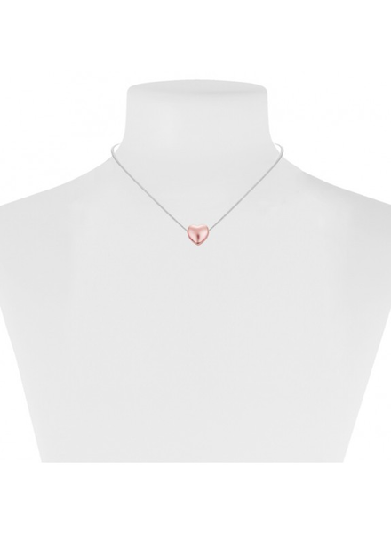 CARACOL CARACOL COLLIER COURT COEUR ROSE