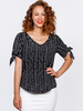 NINETY-EIGHT NINETY-EIGHT BLOUSE NOIR