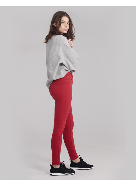 YOGA JEANS YOGA JEANS CLASSIC RISE SKINNY RED LIP