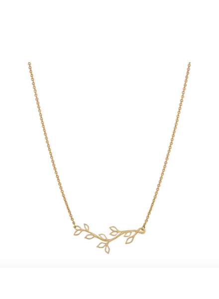 LOST & FAUNE LOST & FAUNE COLLIER BRANCHE OR