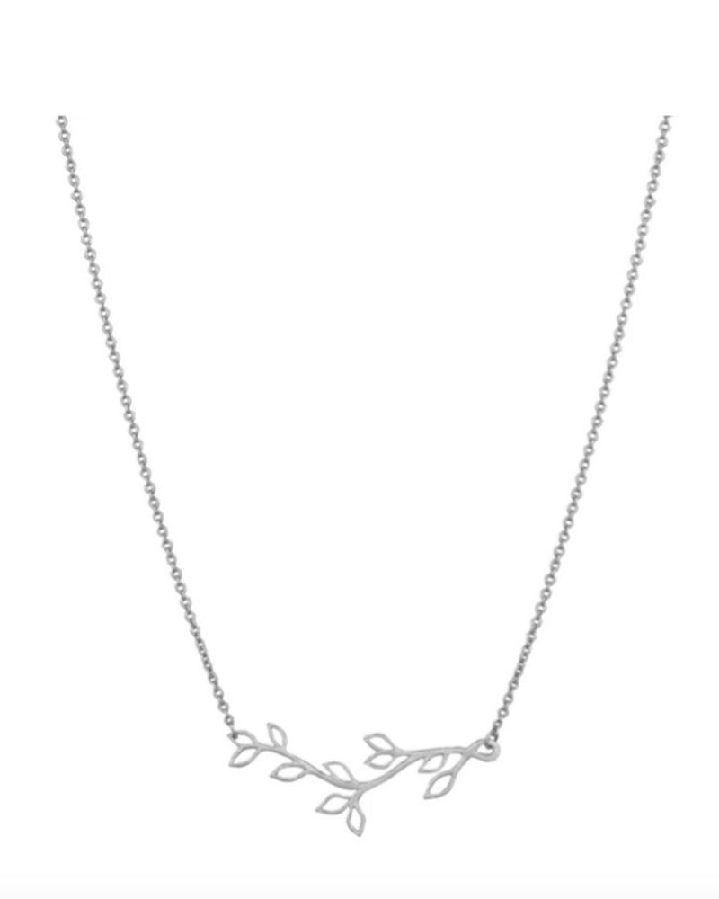 LOST & FAUNE LOST & FAUNE COLLIER BRANCHE ARGENT