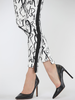LISETTE LISETTE FUN PARTY PRINT 28''/29.5'' HIGH/LOW ANKLE