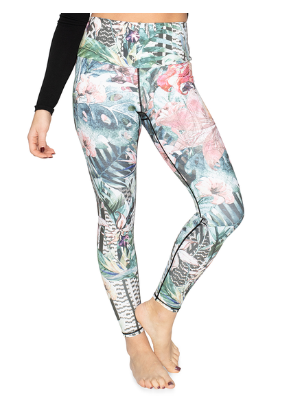 ORAKI ORAKI LEGGINGS ECOMOVE JUNGLE GREEN