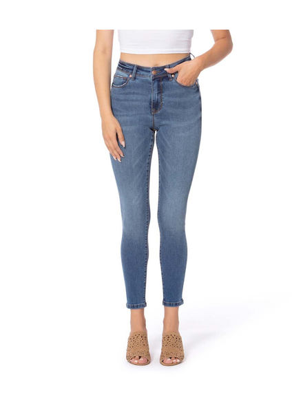 LOLA JEANS LOLA JEANS HIGH RISE SKINNY ANKLE ALEXA-RB ROYAL BLUE