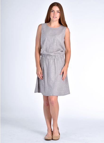MESSAGE FACTORY MESSAGE FACTORY ROBE FREESIA GRIS