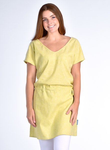 MESSAGE FACTORY MESSAGE FACTORY ROBE OCEANNE LIME