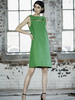 MELOW DESIGN MELOW ROBE DROITE AGAVE VERT