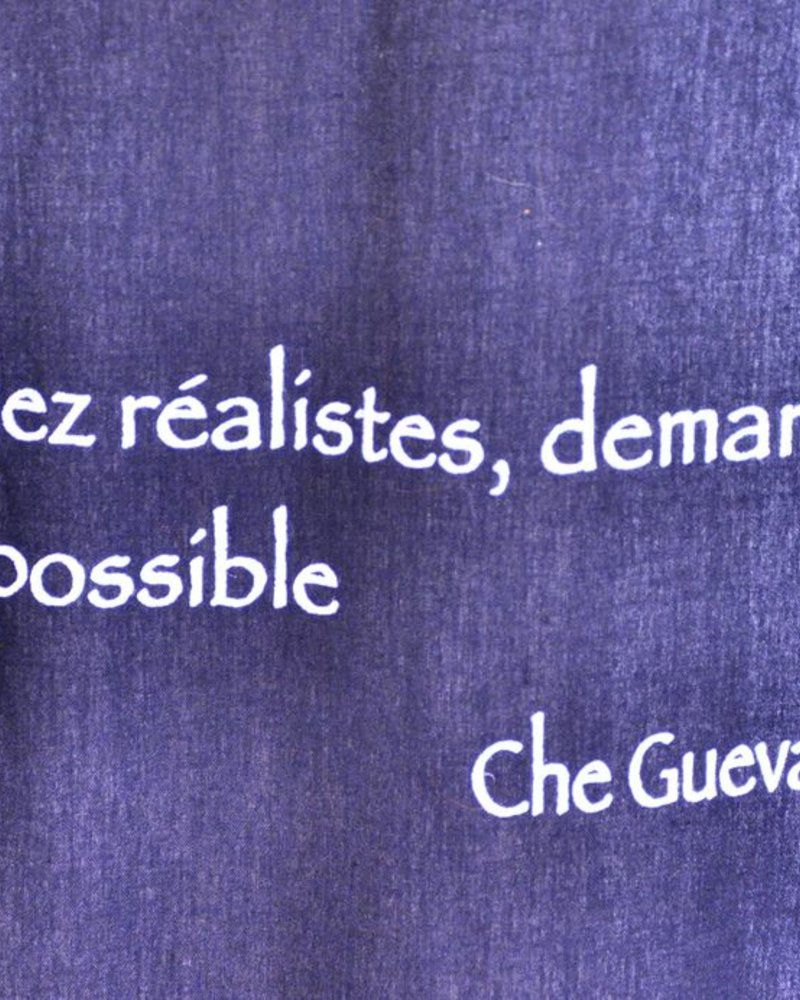 TOILE CITATION CHE GUEVARA
