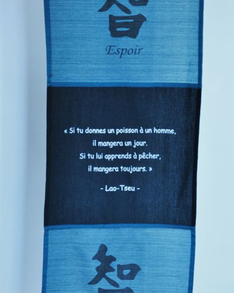 TOILE CITATION LAO TSEU  #13