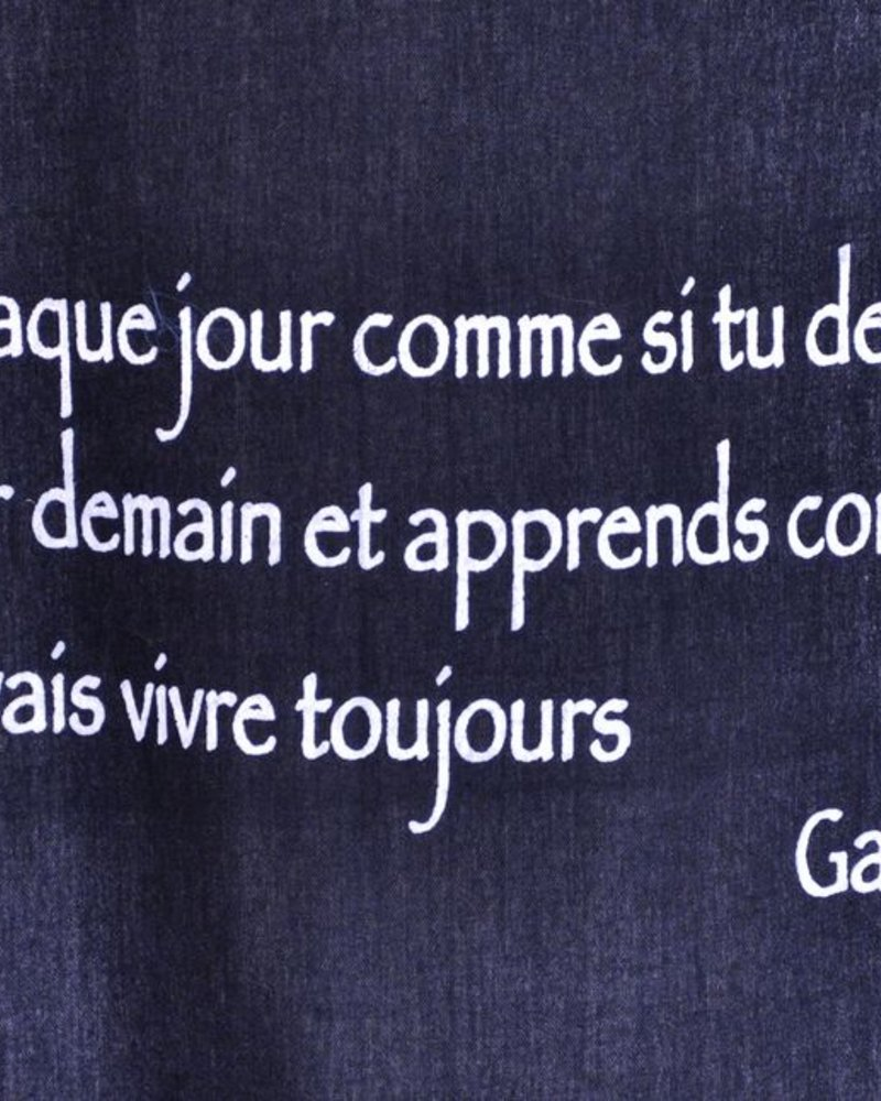 TOILE CITATION GAUDIN  # 46