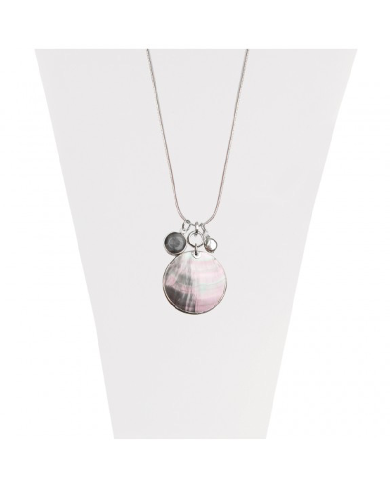 CARACOL CARACOL COLLIER AJUST PENDENTIF COQUILLAGE