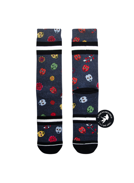 XPOOOS XPOOOS CHAUSSETTE MEX SKULLS