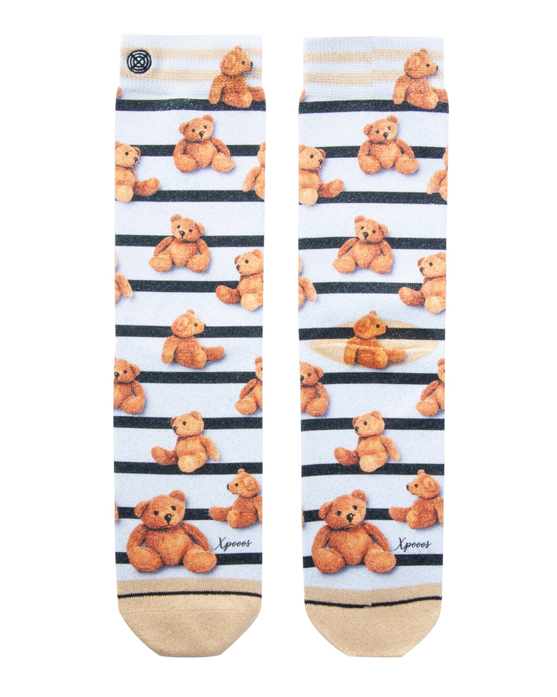 XPOOOS XPOOOS CHAUSSETTE TEDDY MULTI