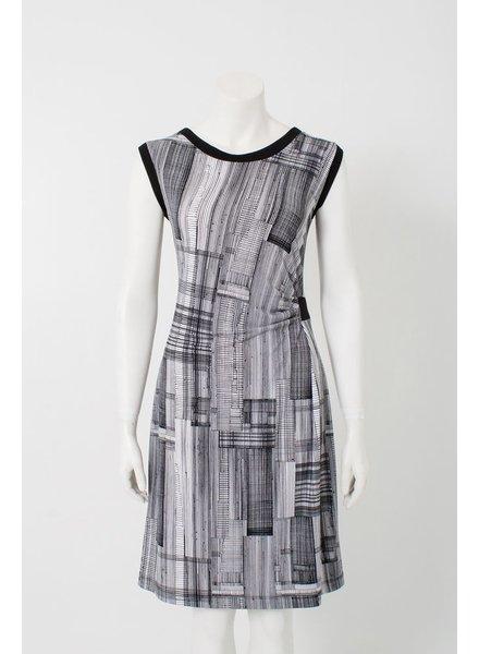KARKASS Karkass EVA DRESS BLACK / WHITE